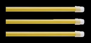 cannule aspirasaliva gialle