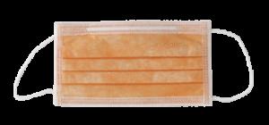 mascherina monouso arancione