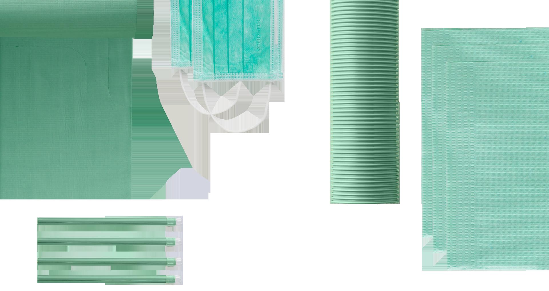 prodotti monouso smeraldo