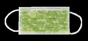 mascherina PTC3 lime floreale euronda monoart
