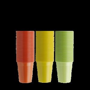 bicchieri monouso colorati