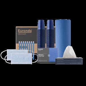 kit Monoart 100% bleu